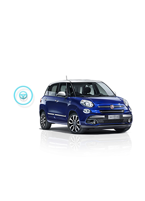 Fiat 500L Mirror - Performance and safety | Fiat