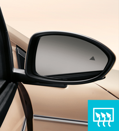 ELECTRICAL SIDE MIRRORS WITH DEFROST