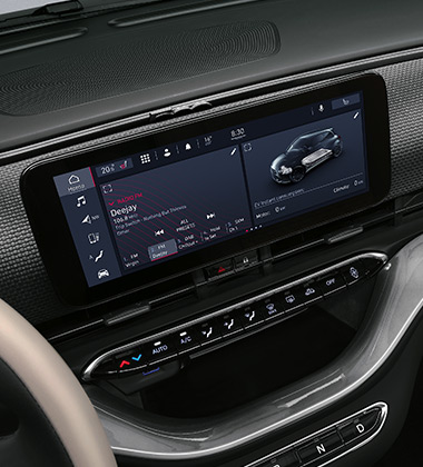 "10.25"" INFOTAINMENT SYSTEM WITH NAVIGATION+ 6 SPEAKERS"