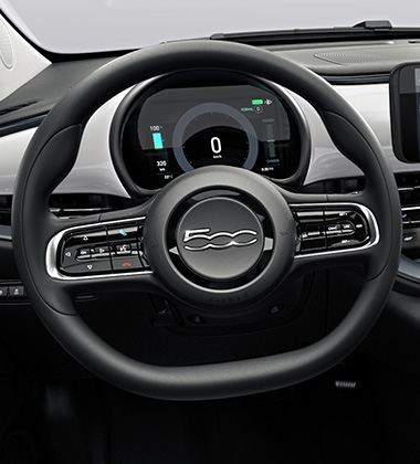 SOFT TOUCH STEERING WHEEL