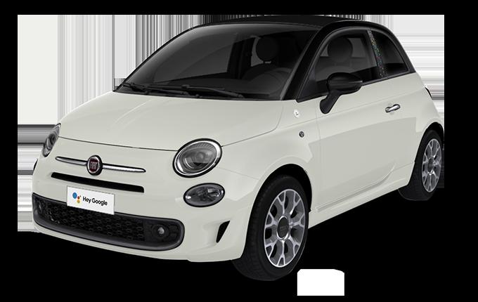 Fiat 500C Hey Google