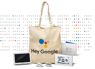 Special Hey Google Welcome Kit