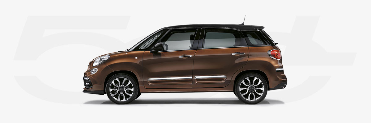 Fiat 500L: the style of 500 in a comfortable family car | Fiat