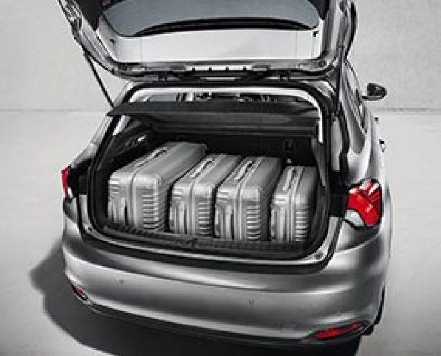 fiat interior trunk. fiat tipo 5door hatchback trunk interior t