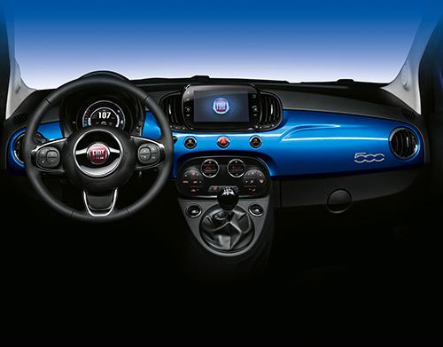 Fiat 500 Mirror.New Fiat 500 Mirror The Technological 500 Fiat